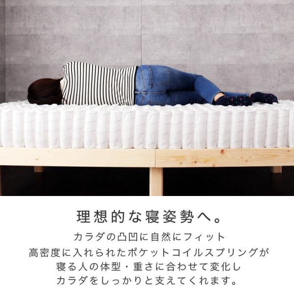 高密度ポケットコイルマットレス シングル 日本人の体格や環境を考慮 マットレス ベッドコンシェルジュ nerucoオリジナルポケットコイルスプリングマットレス ioo 05