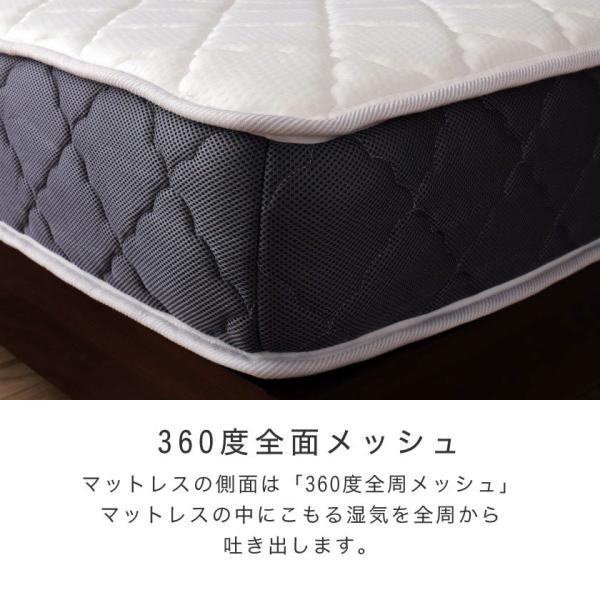 高密度ポケットコイルマットレス シングル 日本人の体格や環境を考慮 マットレス ベッドコンシェルジュ nerucoオリジナルポケットコイルスプリングマットレス ioo 07
