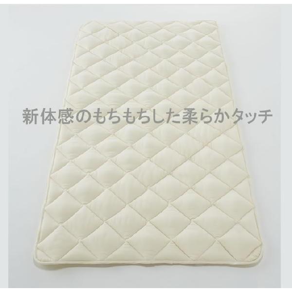 ソロテックスベッドパッド フランスベッド  敷きパット 敷パット ワイドダブルサイズ 幅154cm|ioo|02