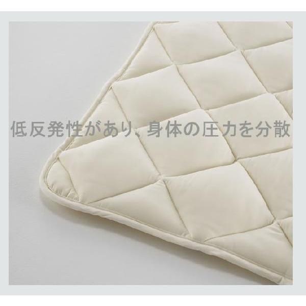 ソロテックスベッドパッド フランスベッド  敷きパット 敷パット ワイドダブルサイズ 幅154cm|ioo|03