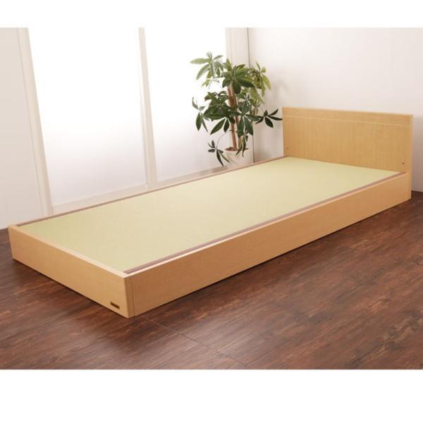 フランスベッド 畳ベッド タタミーノF シングル フレームのみ 脚付 和紙たたみ|ioo|04