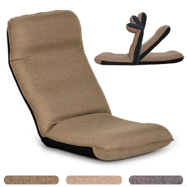 座椅子 座イス 座いす リクライニング 腰痛 日本製 コンパクト|ioo