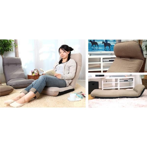 座椅子 座イス 座いす リクライニング 腰痛 日本製 コンパクト|ioo|15