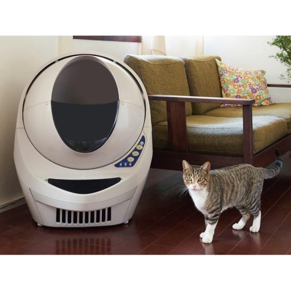 キャットロボット オープンエアー(全自動猫用/1年保証・電話相談・修理対応)【送料無料(北海道・沖縄・離島等除く)】 ip-plus 17