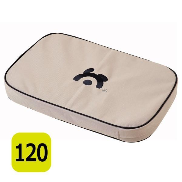 【大型商品】ペットマット クッション 介護 防水 ラウンジマット 120 ソフトケンネル専用|ip-plus