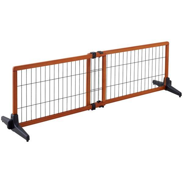 ペット ゲート 扉 脱走防止 柵 間仕切り ペットフェンス カールソン 木製ゲート S|ip-plus|02