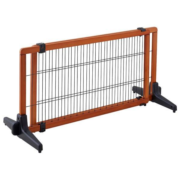 ペット ゲート 扉 脱走防止 柵 間仕切り ペットフェンス カールソン 木製ゲート S|ip-plus|03