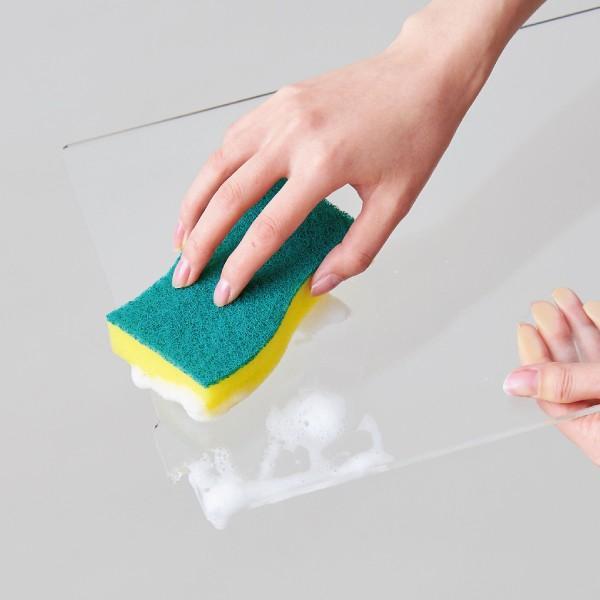 クリアレット2(S)用飛散ガード(レギュラーシーツサイズ)[犬 トイレ おしゃれ 透明 ドッグ アクリル デザイナーズ]|ip-plus|03