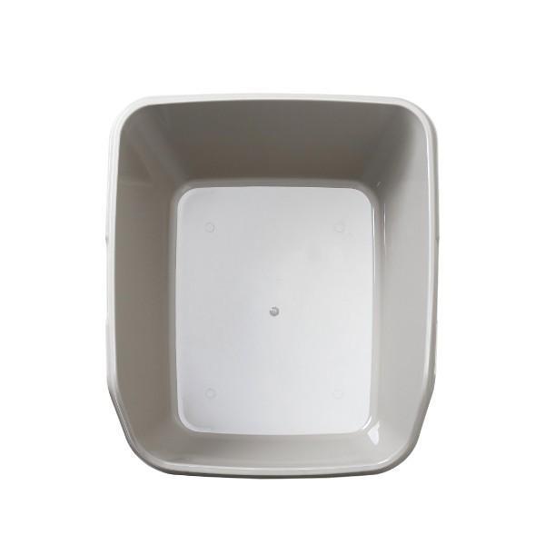 猫トイレ キャットトイレ スプレー対策 飛び散り 飛散ガード HY cat ラージ グレー|ip-plus|09
