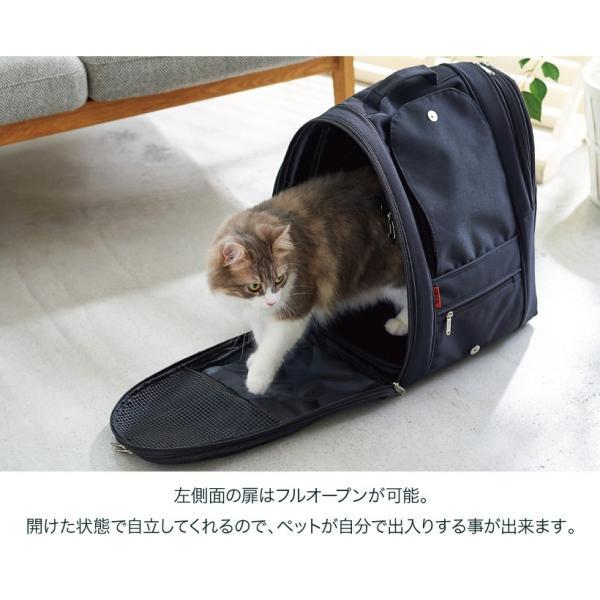犬 猫 ペットキャリー 軽量 フルカバー メッシュ バックパック・アドベンチャー|ip-plus|05