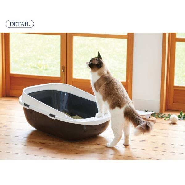 猫 ねこ トイレ 大きい ビッグ メガトレー ip-plus 11
