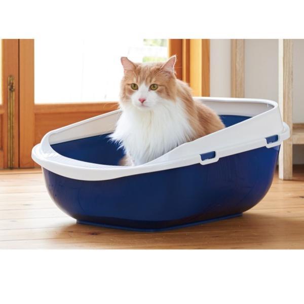 猫 ねこ トイレ 大きい ビッグ メガトレー ip-plus 12