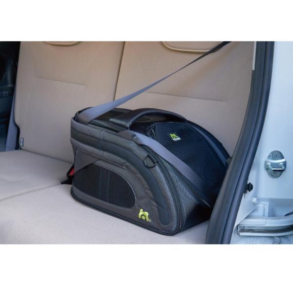 犬 猫 ペットキャリー 軽量 旅行 ドライブ SNUGGLE KENNEL52 スナグルケンネル52|ip-plus|03