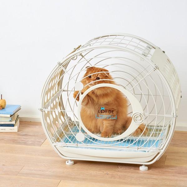 【大型商品】 タイムトンネル 猫 ネコ キャット ケージ オシャレ TIME TUNNEL PET CRATE【大型送料・同梱不可】|ip-plus