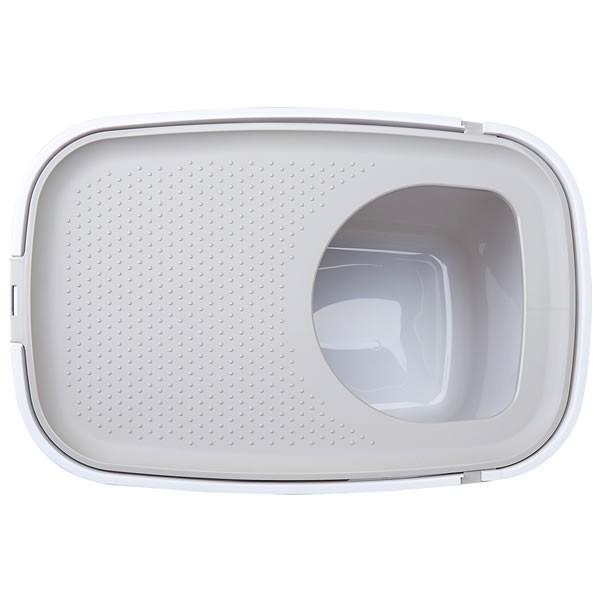 上から入る猫トイレ 散らからない TOP CAT 掃除 フルカバー ネコトイレ 猫 ねこ ボックス BOX TOPCAT【トップキャット】2色|ip-plus|13