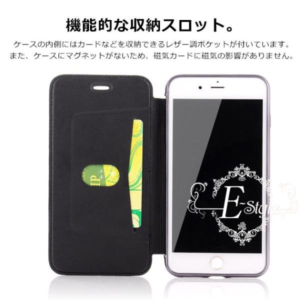 iPhone11 ケース XR SE2 ケース 手帳型 iPhone8 ケース 韓国 スマホ 携帯 アイフォン11 Pro ケース 手帳型 7 6s XS iPhoneケース クリア 透明|iphone-e-style|06