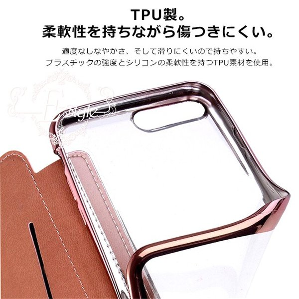 iPhone11 ケース XR SE2 ケース 手帳型 iPhone8 ケース 韓国 スマホ 携帯 アイフォン11 Pro ケース 手帳型 7 6s XS iPhoneケース クリア 透明|iphone-e-style|07