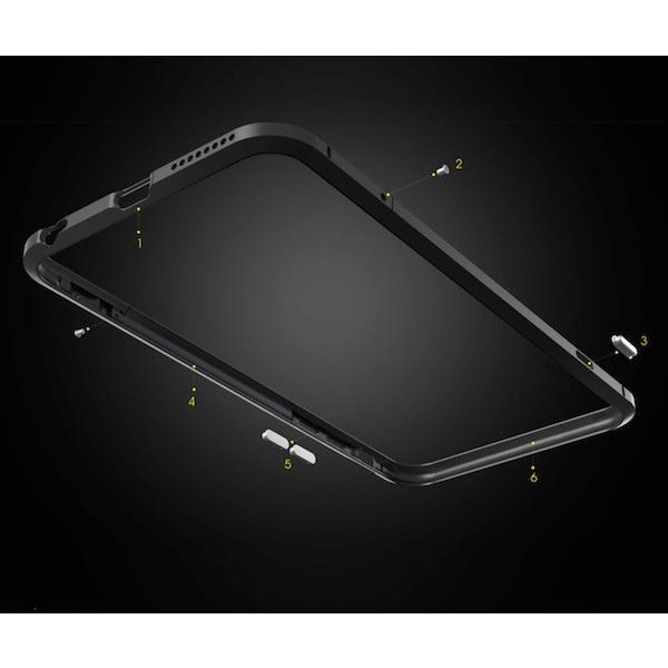 iPhone6 6s 6Plus 5s SE アイフォン バンパー ケース ジュラルミン アルミ メタル 頑丈 送料無料|iphone-smart|02