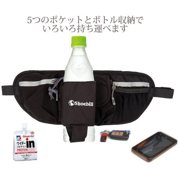 ウエストポーチ ペットボトル  メンズ レディース 防水 ウエストバッグ ポーチ スマホ収納 iphone アウトドア ランニング 軽量 3L|iphone-smart|06