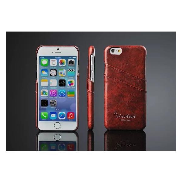 iPhone8 ケース iPhone8Plus ケース iPhone7 7Plus iPhone6s Plus iPhoneSEレザー ケース カバー 手帳型 背面カード 収納ポケット 皮 軽量 送料無料|iphone-smart|04
