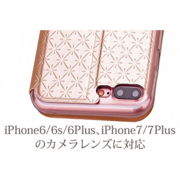 窓付き iPhone6s ケース iPhone6s Plus iPhone7 7Plus 8 Plus ケース 手帳型 カバー マグネット式 カード収納 おしゃれ|iphone-smart|05
