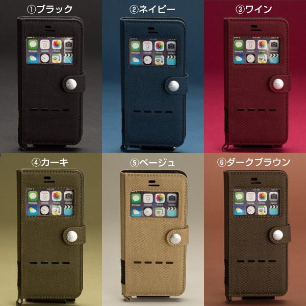 iPhone6s iPhone6 窓付 手帳型 ケース Phone6s フリップ ケース アイフォン6s 手帳型ケース ブランド ROOT CO|iplus|02