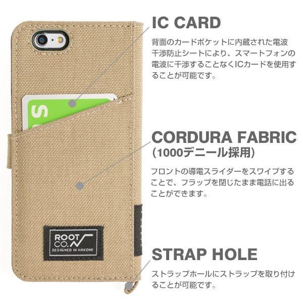 iPhone6s iPhone6 窓付 手帳型 ケース Phone6s フリップ ケース アイフォン6s 手帳型ケース ブランド ROOT CO|iplus|06