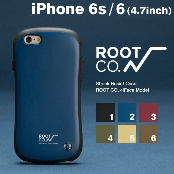 iPhone6s iPhone6 iFace ケース アイフェイス iPhone6s ケース Gravity Shock Resist  ROOT CO.×iFace