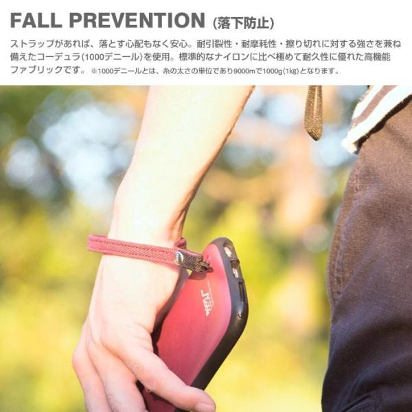 ストラップ スマホ 落下防止 ストラップ ブランド 落下防止 携帯 ストラップ おしゃれ 頑丈 コーデュラ アウトドア ROOT CO ルートコー|iplus|05