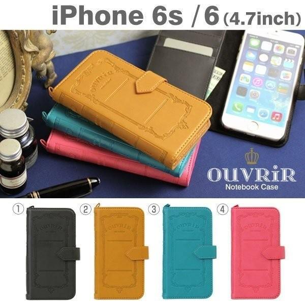 iPhone6s 手帳型 ケース OUVRIR Notebook Case ウーヴリールノートブックケース iPhone6s iPhone6