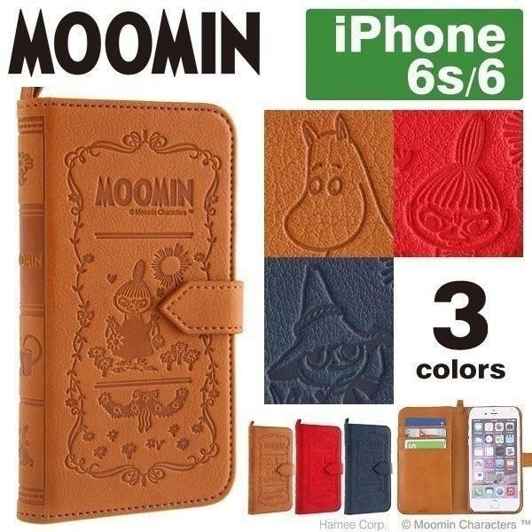 ムーミン iPhone6s ケース iPhone6 手帳型 カバー MOOMIN Notebook Case ムーミンノートブックケース
