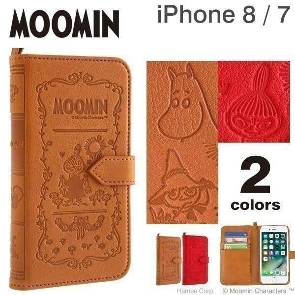iPhone7 ケース 手帳型 MOOMIN Notebook Case ムーミンノートブックケース  アイフォン7 アイホン カバー リトルミイ
