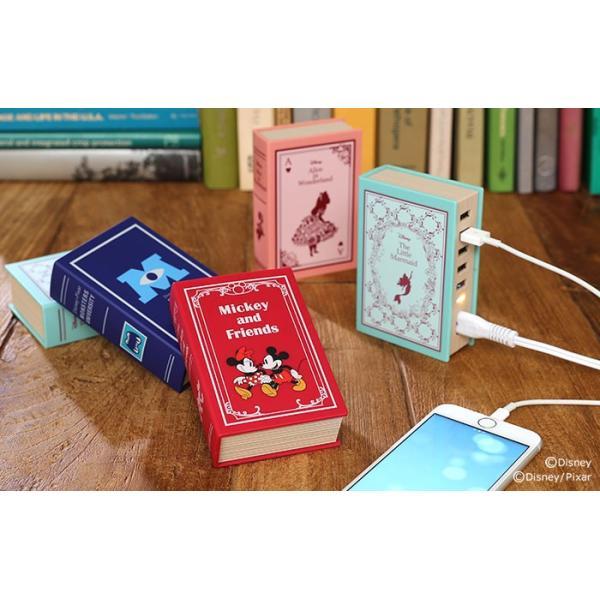 ディズニー 充電器  5ポート USB-AC 卓上 充電器 急速充電 iphone android スマートIC 搭載 ピクサー キャラクター disney_y|iplus|18