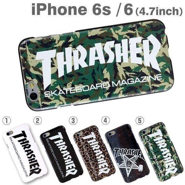 THRASHER スラッシャー iPhone6s ケース カバー ハードケース スケーター スケボー ブランド 正規品 通販 アイホン6ケース アイフォン 6s