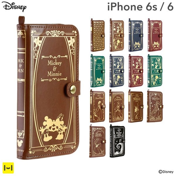 Old Book Case Iphone Disney : 名入れ iphone s ディズニー ケース 手帳型 キャラクター old book case