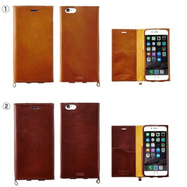 iPhone6s iPhone6 ケース 本革 手帳型 カバー GALGANOガルガーノ conceria WALPIER社製 牛革 レザー ケース  手帳 横 アイフォン6 ブランド|iplus|02