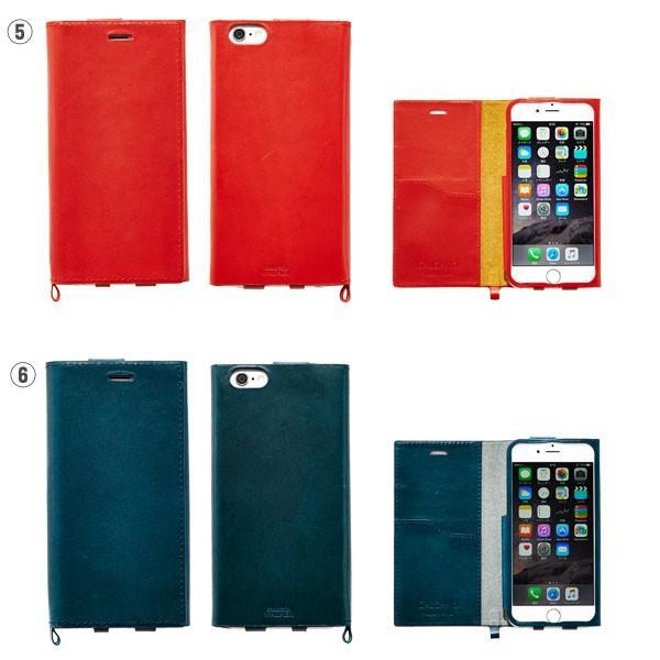 iPhone6s iPhone6 ケース 本革 手帳型 カバー GALGANOガルガーノ conceria WALPIER社製 牛革 レザー ケース  手帳 横 アイフォン6 ブランド|iplus|04