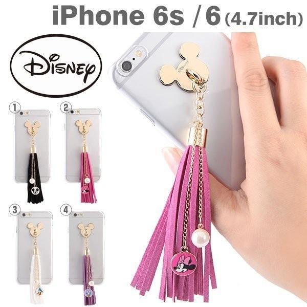 iPhone6s ケース iPhone6 ケース ディズニーキャラクター/タッセルクリアケース アイホン アイフォン6s 【disney_y】