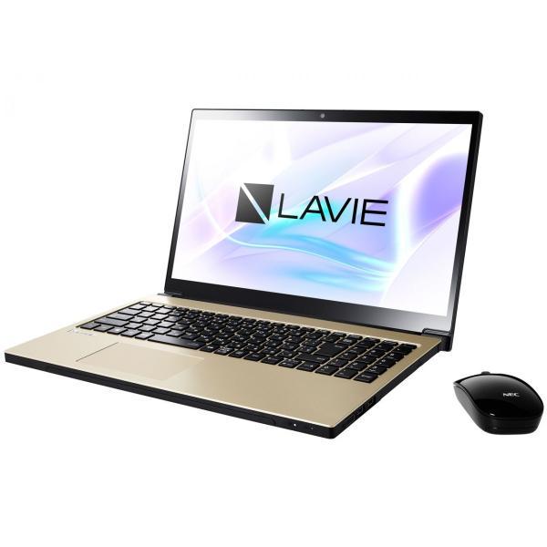 NEC PC-NX550JAG ノートパソコン LAVIE Note NEXT グレイスゴールド [15.6型 /intel Core i5 /HDD:1TB /メモリ:4GB /2017年10月モデル]の画像