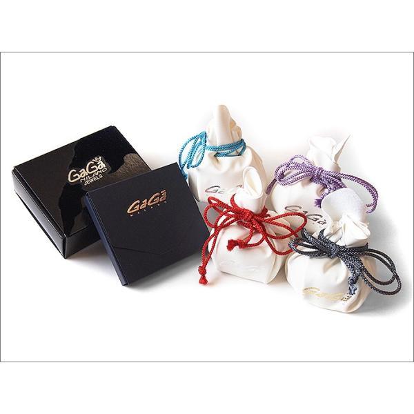 ガガミラノ GAGA MILANO アクセサリー シルバー ホワイト&ブラック ブレスレット|ippin|02