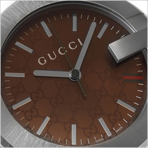 グッチ GUCCI YC210007 置時計 ブラウン|ippin|02