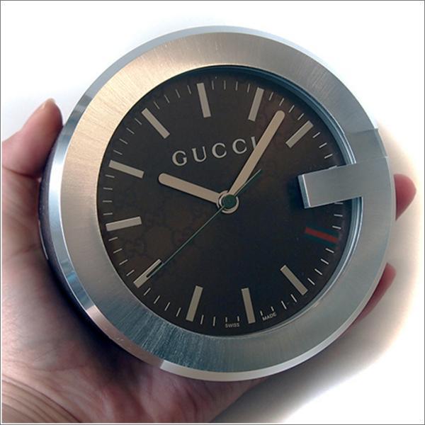 グッチ GUCCI YC210007 置時計 ブラウン|ippin|06