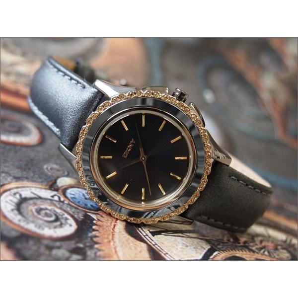 DKNY ダナキャランニューヨーク 腕時計 NY8703 レザーベルト|ippin