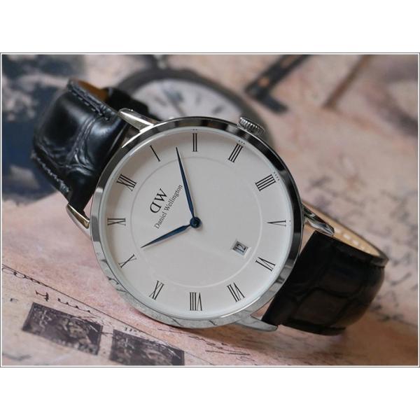 ダニエル ウェリントン DANIEL WELLINGTON 腕時計 DW00600108 (DW00100108) シルバー 38mm DAPPER READING ダッパー リーディング ippin