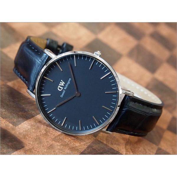ダニエル ウェリントン DANIEL WELLINGTON 腕時計 DW00100147 DW00600147 シルバー 36mm CLASSIC READING クラシック リーディング ブラック|ippin