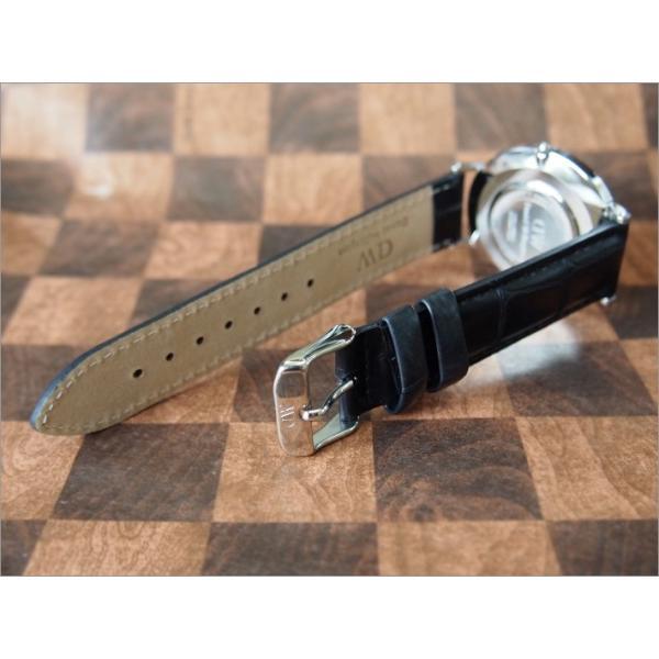 ダニエル ウェリントン DANIEL WELLINGTON 腕時計 DW00100147 DW00600147 シルバー 36mm CLASSIC READING クラシック リーディング ブラック|ippin|02