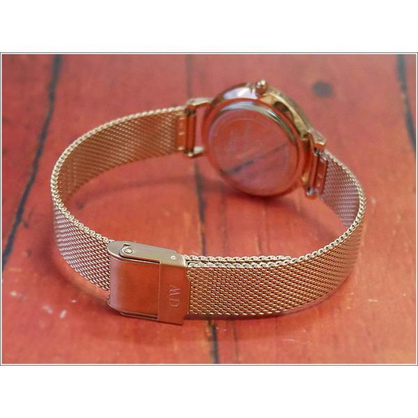 ダニエル ウェリントン DANIEL WELLINGTON 腕時計 DW00100219 DW00600219 ローズゴールド 28mm PETITE MELROSE ペティット メルローズ|ippin|02