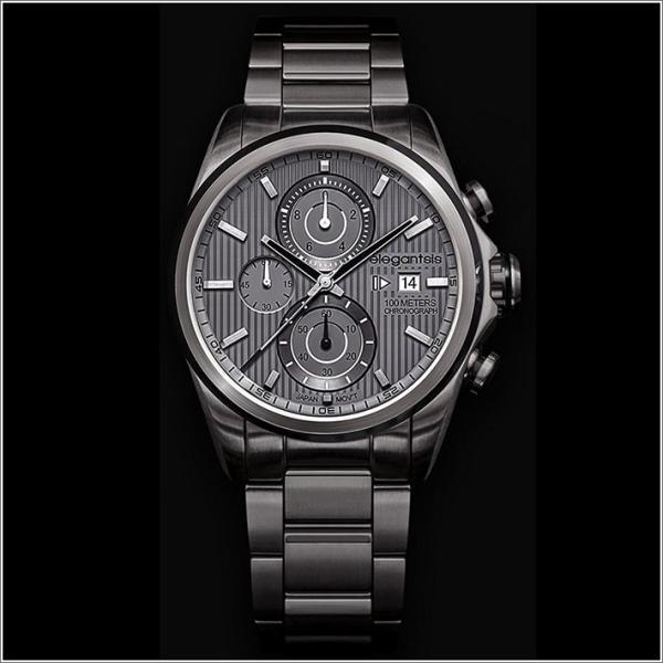 エレガントシス elegantsis 腕時計 ELJT42R-6G05MA レーシングスタイル スーパーバイクモデル ippin
