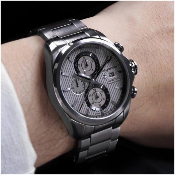 エレガントシス elegantsis 腕時計 ELJT42R-6G05MA レーシングスタイル スーパーバイクモデル ippin 03