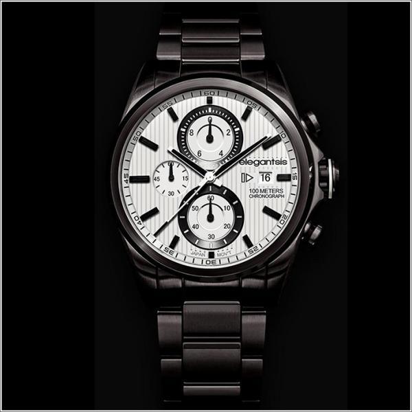エレガントシス elegantsis 腕時計 ELJT42R-6W06MA レーシングスタイル スーパーバイクモデル|ippin